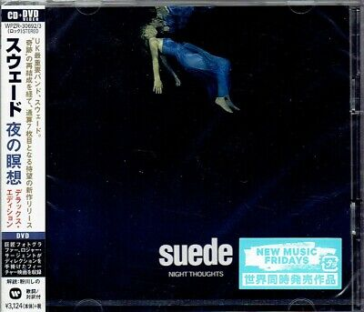 SUEDE Night Thoughts SEALED Deluxe Edition CD+DVD JAPAN WPZR-30692 • 33.38£