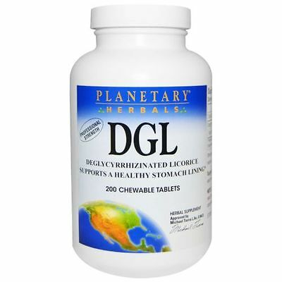 AU88.85 • Buy 2 X DGL, Deglycyrrhizinated Licorice, 200 Chewable Tablets(400 Tabs In Total)