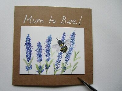 £2.75 • Buy Hand Painted Card Mum To Bee!