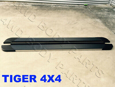 AU389 • Buy (#B9) Side Steps Running Boards For SsangYang Musso / XLV Dual Cab 2018 To 2020