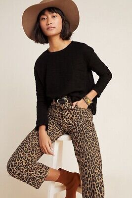 $ CDN33.97 • Buy Anthropologie T. La Marsha Knit Black Pullover Top Size Large Textured Cotton
