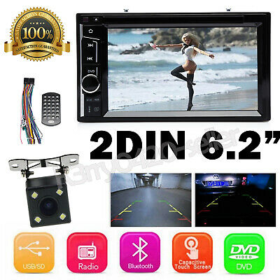 $136.33 • Buy For 2005-2015 FORD F150/250/350/450/550 2DIN AUX CAR DVD RADIO STEREO MirrorLINK
