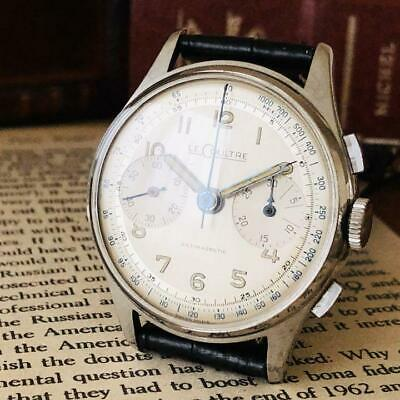$ CDN2975.68 • Buy LeCOULTRE Men's Wristwatch Hand-wound Chronograph Case Size 35mm Vintage Used