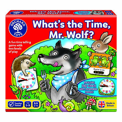 £10.89 • Buy Orchard Toys What's The Time, Mr Wolf