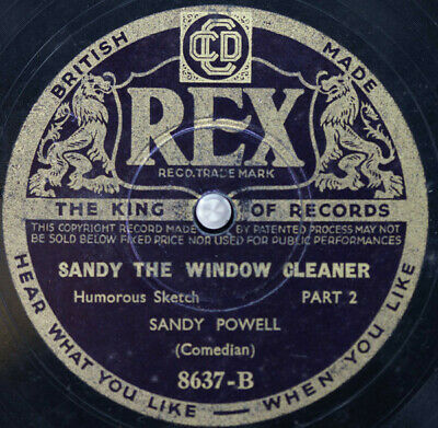 £17.99 • Buy Sandy Powell - Sandy And The Window Cleaner (Shellac, 10 )