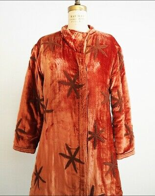 £61.81 • Buy 1920's Style Star Embroidered Coat Vintage