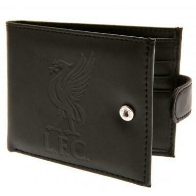 Liverpool Fc Rfid Anti Fraud Embossed Leather Wallet - Official Football Gift • 19.99£