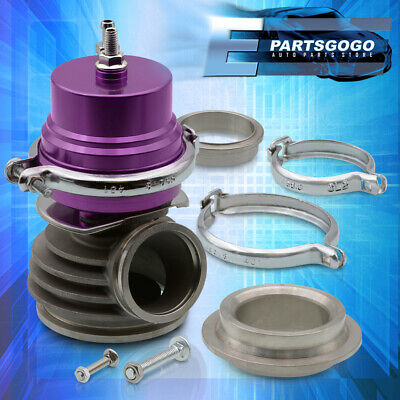 $68.99 • Buy Performance Racing Power Vband 50mm Turbo Charger Wastegate Manifold Purple Top