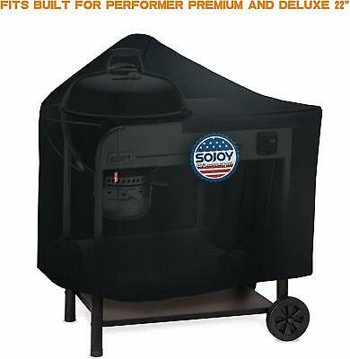 $ CDN50.63 • Buy BBQ Grill Cover For 22  Weber Performer Premium & Deluxe Charcoal Grills 7152