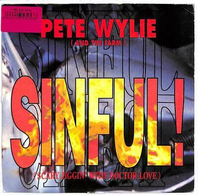£2.99 • Buy Pete Wylie - Sinful! (Scary Jiggin' With Doctor Love) - 7  Record Single