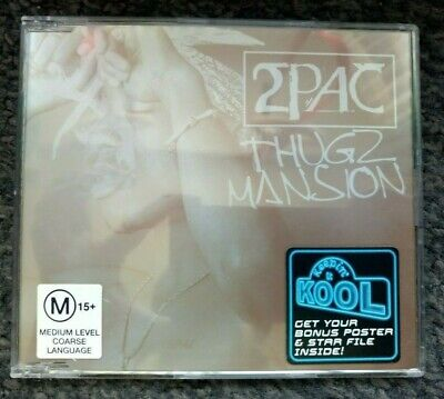 2Pac - Thugz Mansion + Bonus Poster (CD Single) 2003 • 9.99£