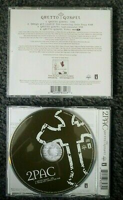 2Pac - Ghetto Gospel (2 Versions CD Single Collection) 2004 • 4.99£