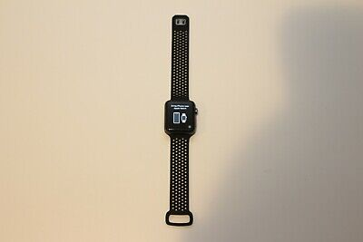 $ CDN201.95 • Buy Apple Watch Series 3 Nike+ 42mm GPS + LTE Cellular MQLD2LL/A - Space Gray