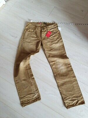 PRPS Pure Mens Chino Beige Trousers Jeans Size W32 L31 New • 75£