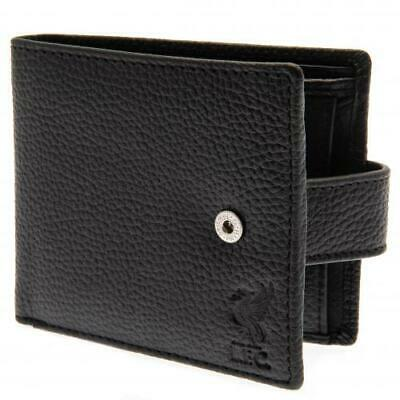 £26 • Buy Liverpool Fc Official Black Colour Leather Wallet - Football Gift, Lfc, Mens