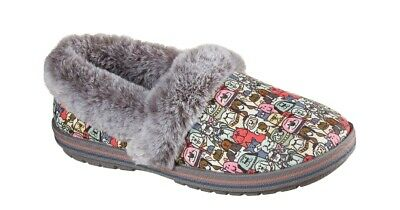 Skechers Bobs Too Cozy Snuggle Rovers Womens Shoes Size 11   Memory Foam Slipper • 27.17£