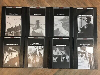 Eight Time Life Hard Back Books The Third Reich Good Condition Throughout • 20£