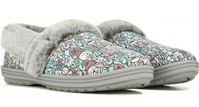 Skechers Bobs Too Cozy Pooch Parade Womens Slippers   Size 10   Faux Fur Shoes • 24.05£