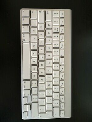 Apple IMac A1314 Wireless Keyboard - Silver (MC184LL/B), Macintosh • 50£