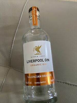 Liverpool Gin Valencian Orange Empty Bottle/ Wedding Craft/ Upcycling/art 70cl • 4.99£