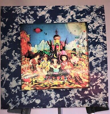 £324.46 • Buy Rolling Stones - Their Satanic Majesties Request First Press Vinyl With 3D Cover