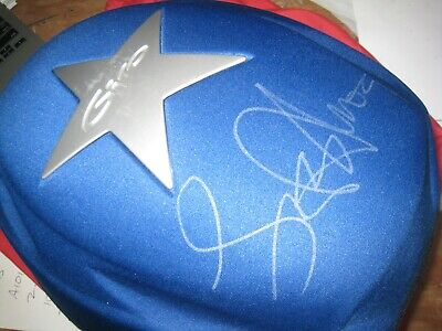 2002 Large Giro Pneumo Lone Star Helmet With Lance Armstrong Signed Helmet Pod • 723.59£