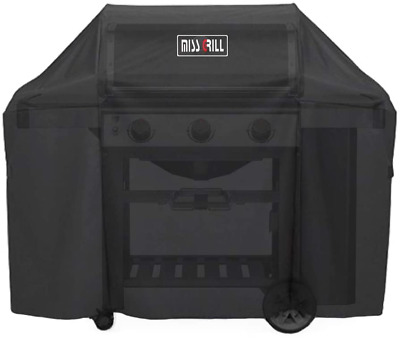 $ CDN55.69 • Buy 58  BBQ Grill Cover For Weber Genesis II 3 Burner & Genesis 300 Series Gas Grill