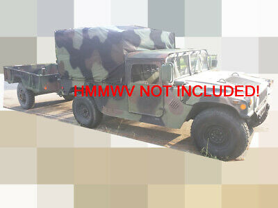 $1750 • Buy USMC M105A2 1 1/2 Ton Military Cargo Trailer With CA TITLE/PLATE (REB Jan 2013)