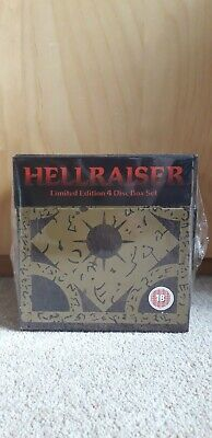Hellraiser Puzzle Box DVD Limited Edition 4 Disc Box Set Brand New And Sealed • 60£