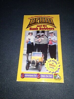 £5.79 • Buy Brum And The Bank Robbers VHS Video Rare VG