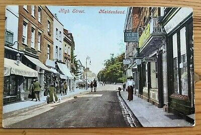 £6.99 • Buy MAIDENHEAD High Street 1916 With Censor Stamp