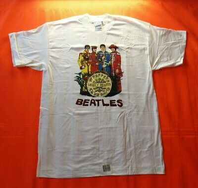 £55 • Buy The Beatles Sgt Peppers Single Stitch Screen Stars T Shirt Vintage Size L NOS