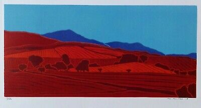 Lake District Northern Fells Linocut Print • 28£