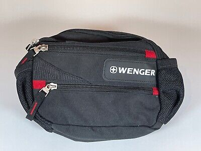 Fanny Pack Black Wenger By Swiss Army Waist Pack ~ NEW • 21.16£
