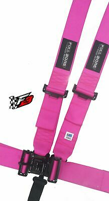AU149 • Buy 3  FULL BORE Harness 5 Point SFI 16.1 Latch/Link (PINK)