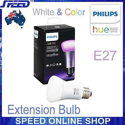 AU79.50 • Buy Philips Hue - White And Color Ambiance - Extension Single Bulb - E27 - (Retail)