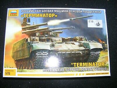Zvezda Terminator Russian Fire Support Combat Vehicle 1/72nd Scale Plastic Kit  • 15£
