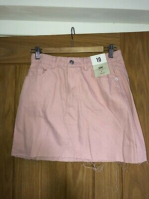 £5 • Buy Baby Pink Denim Skirt - Primark BRAND NEW WITH LABELS