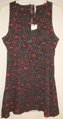 £19.50 • Buy Ladies Firetrap Grinder Chilli Sleeveless Long Line Muscle Back Top Size XL/UK16