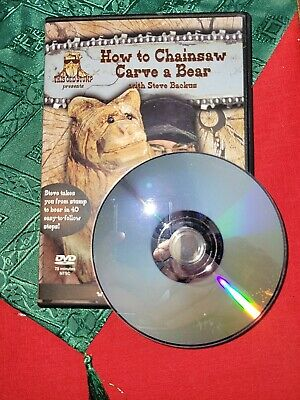 How To Chainsaw Carve A Bear DVD • 14.18£