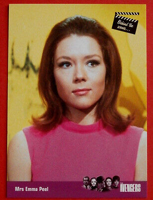 £4.99 • Buy THE AVENGERS - Card #94 - Mrs Emma Peel - SERIES ONE - Strictly Ink 2003