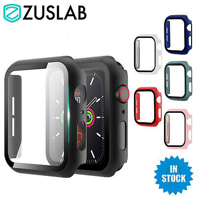 AU14.95 • Buy For Apple Watch IWatch SE 6 5 4 Case Full Screen Protector Cover 44 42 40 38 Mm