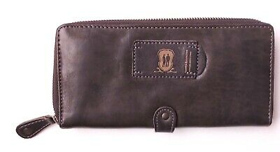 $130.81 • Buy Aunts & Uncles THE CANDY SHOP NUTMEG MU Leather Wallet, Tobacco