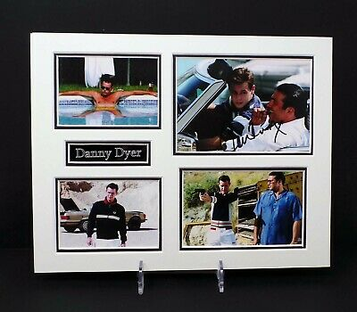 £49.99 • Buy Danny DYER Signed Mounted Frankie The Business Photo Display 1 AFTAL RD COA