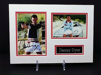 £39.99 • Buy Danny DYER A4 Signed Mounted Frankie The Business Photo Display 1 AFTAL RD COA