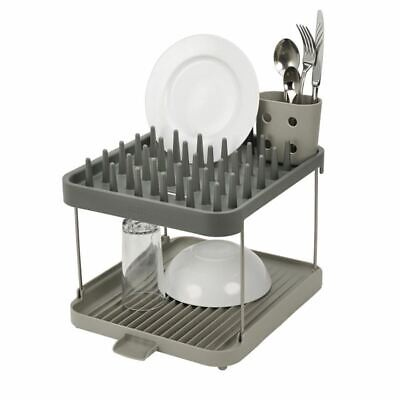 AU29.95 • Buy Joseph Joseph - Duo 2 Tier Dish Rack Grey
