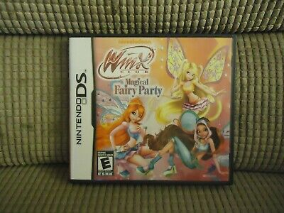 £8.64 • Buy Nintendo Ds Winx Club Magical Fairy Party Game Complete With Case & Instructions