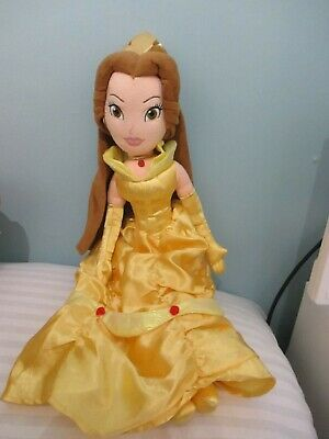 Disney Store Disney Princess Belle Doll Beauty And The Beast  Soft Toy 20    • 9£