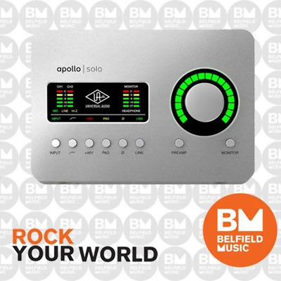 AU1299 • Buy Universal Audio UA Apollo Solo Thunderbolt Audio Interface - Heritage Edition