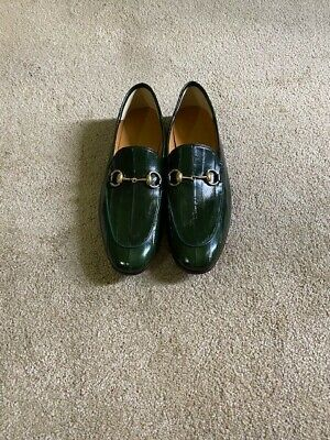 AU545 • Buy Mens Gucci Shoes Size 7.5 / EU 41 Brand New Loafers Retail $845.00